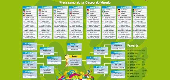 Afrique foot actualit du football en afrique - Calendrier de la coupe du monde de rugby ...