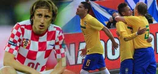Match Brésil - Croatie pour la coupe du monde 2014