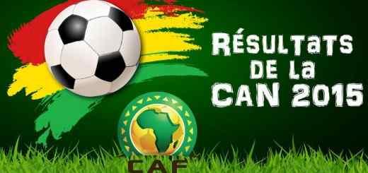 Résultat de la CAN 2015