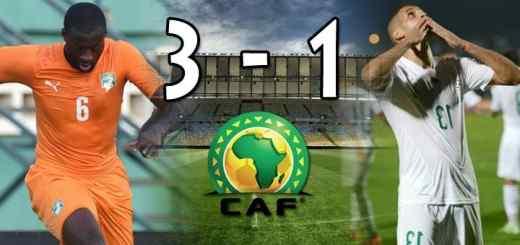 Algérie - Côte d'Ivoire
